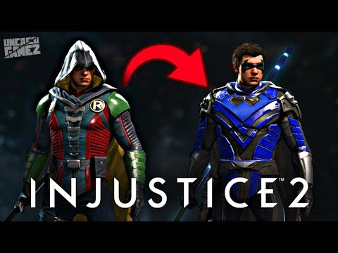 Injustice 2 - Turning My ROBIN into NIGHTWING!!