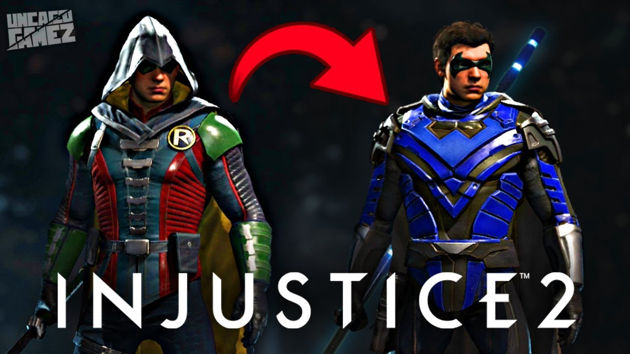 injustice 2 how to get nightwing