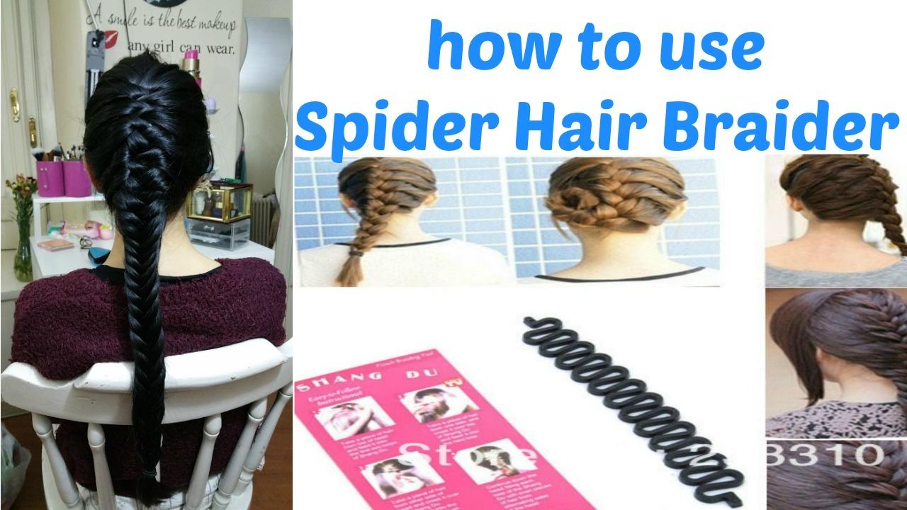How To Use Sprider Hair Braider Treccia Progressiva Ita Youtube
