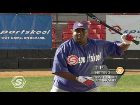 How to Improve your Hitting with Baseball Pro Tony Gwynn