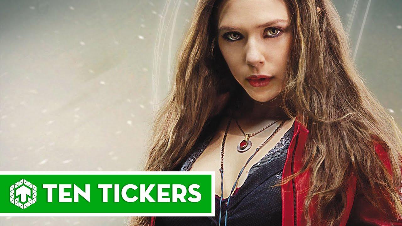 Top 10 sự thật thú vị về Scarlet Witch | Nhân vật Ten Tickers số 27