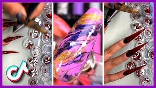 Amazing Nails Art Tutorial TikTok Compilation | Fabulous Nail Videos February (2021)