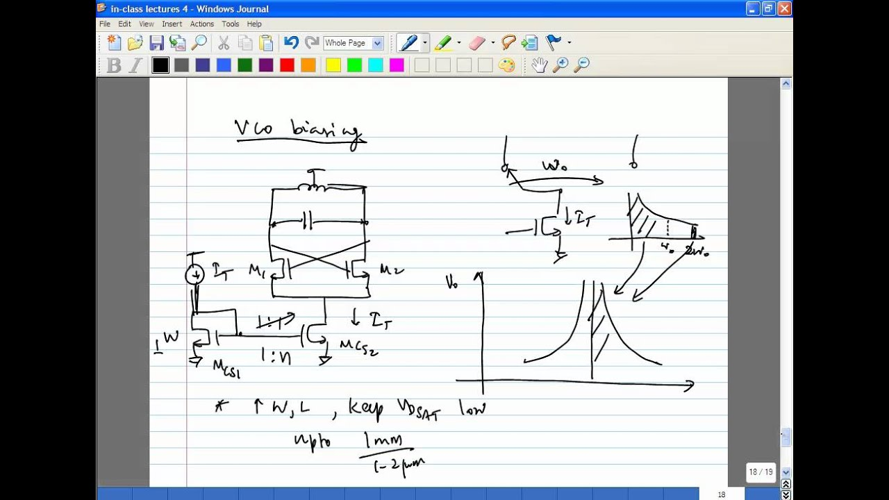 Lecture 32 Vco Design Youtube Voltage Controlled Oscillator Oscillatorcircuit Signalprocessing
