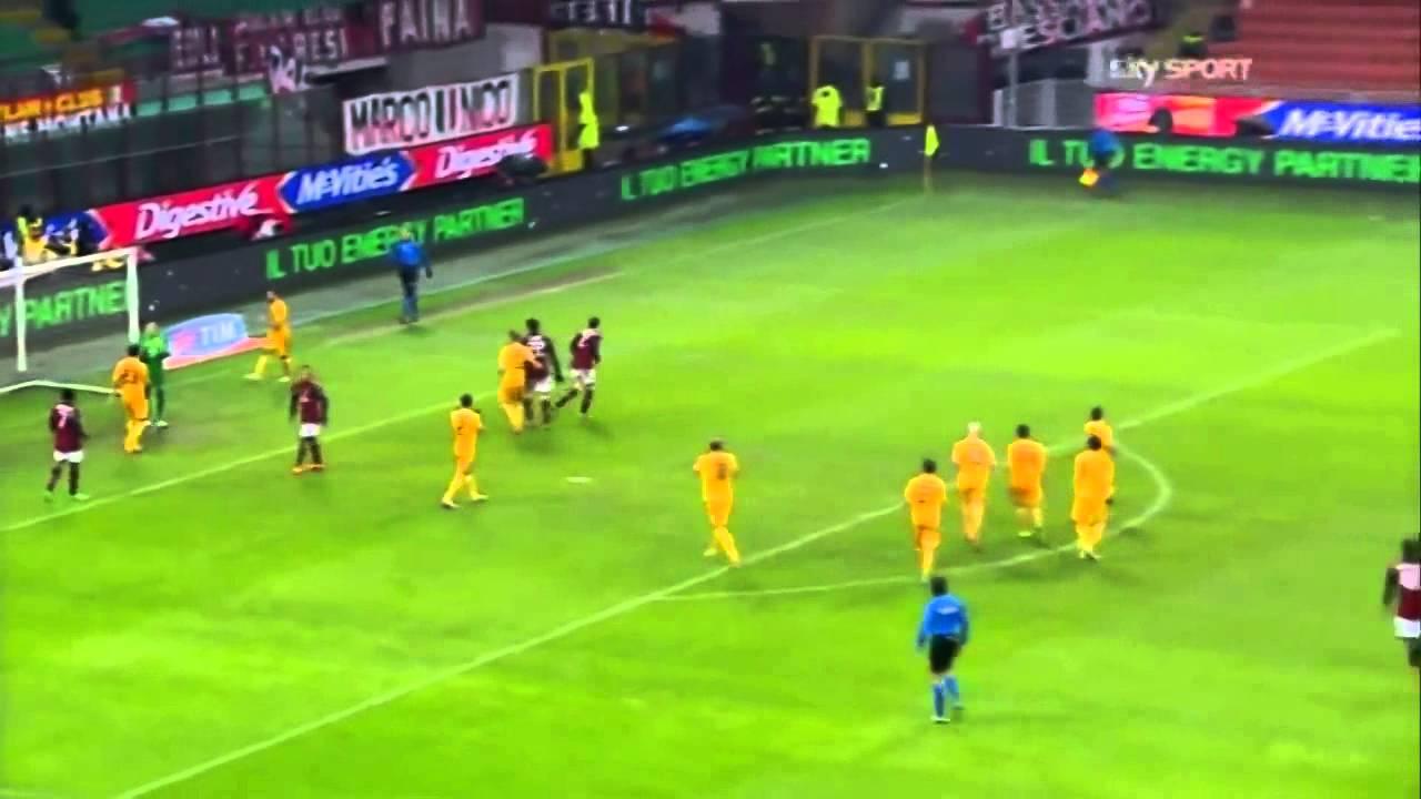 AC Milan 1-0 Hellas Verona [Match Highlights] - YouTube