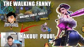 THE WALKING FANNY WALANG CABLE CABLE VICTORY|NAKUU PO MAVSYYY KANSER TALAGA |MOBILE LEGENDS