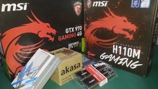 i5 6500 H110M GAMING GTX 970 NINJA 600W OYUNCU BILGISAYARI TOPLAMA