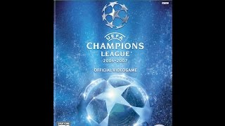 UEFA Champions League 2006 - 2007 - Xbox 360 2007 (Rome vs Lyon First Knockout Round Rematch)
