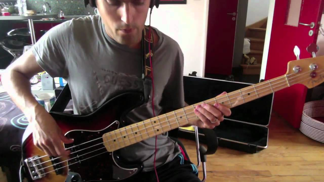 & The Doors - Break On Through - Bass Cover - YouTube
