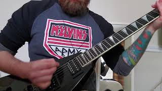 Anthrax- A Skeleton in the Closet (guitar cover)