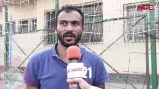 إبراهيم سعيد: عندي لعيبة في جولدي أقوى من اللي في الدوري الممتاز (اتفرج)