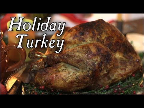 Holiday Turkey - 18th century cooking with Jas Townsend and Son S5E9
