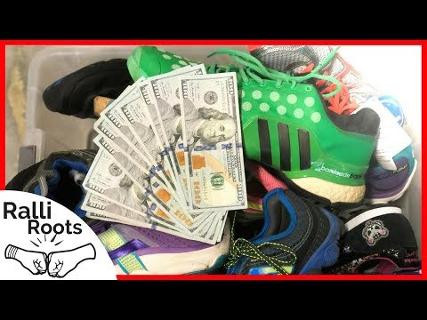 HOW TO MAKE $100,000 SELLING SHOES ONLINE | 2018 VLOG
