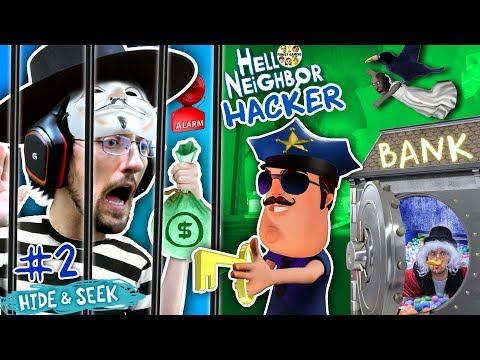 HELLO NEIGHBOR COPS & ROBBERS! FGTEEV Hide N Seek #2 (GRANNY watches Marts' kids)