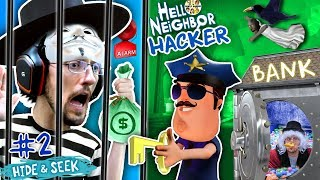 HELLO NEIGHBOR COPS \u0026 ROBBERS! FGTEEV Hide N Seek #2 (GRANNY watches Marts' kids)