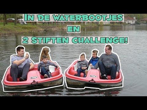 2 STIFTENCHALLENGE + WATERFIETSEN MET KOETLIFE !! - Broer en Zus TV #150