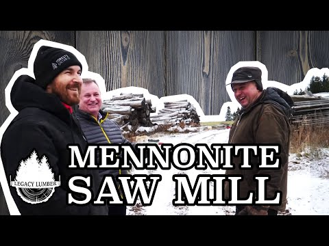 Ohsweken Project: Part 1 - Visit To Mennonite Saw Mill