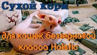 Сухой корм для кошек класса холистик беззерновой
