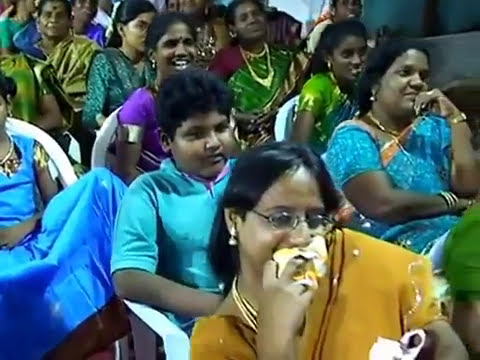 Ms. Malathi & Arul Prasath Great Speech in Mr. Raja, Ms. Bharathi Basker on stage at Ti Anode