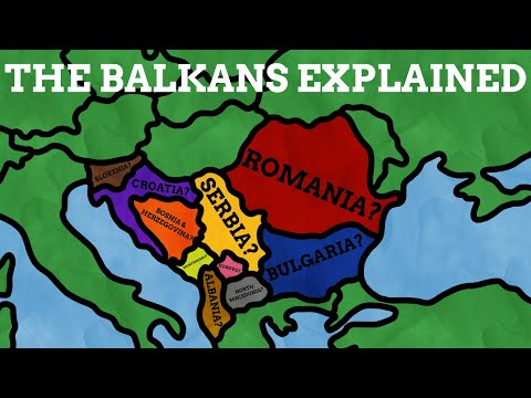 The Names Of The Balkans Explained