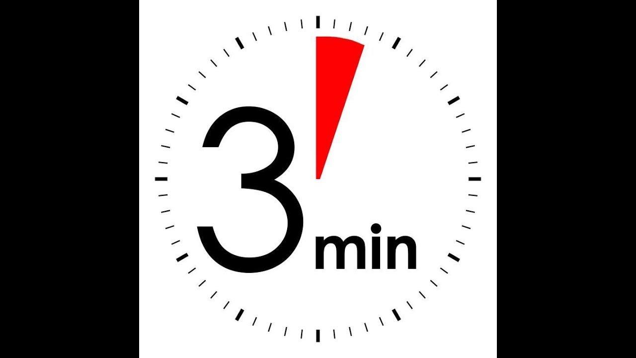 3 minutes timer