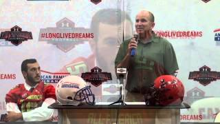 Tyler Petite: American Family Insurance Selection Tour Jersey Presentation