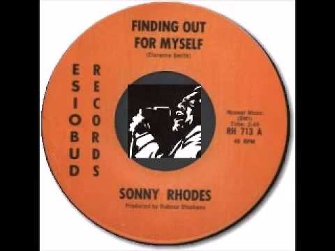 Sonny Rhodes - I Don't Want My Blues Colored Bright