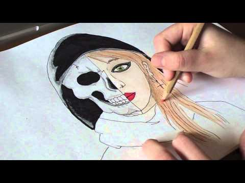 Skeleton (Alternative Cover Speed Drawing) - Ghost Town