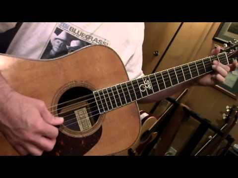 bluegrass guitar lesson 3 walking between chords youtube. Black Bedroom Furniture Sets. Home Design Ideas