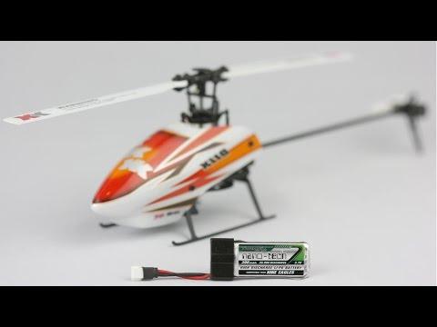 XK K110 - 3D Micro heli - more power, less weight - 300mah nanotech comparison