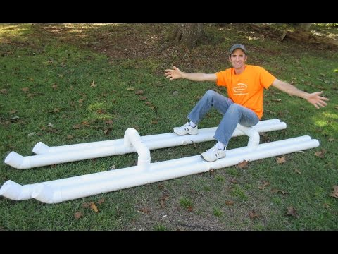 Building a PVC Raft - DIY
