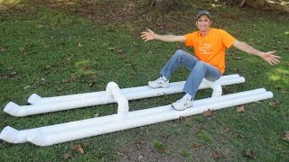 Building a PVC Raft - DIY