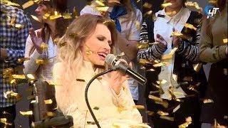 Марафон «Роджественский подарок» открылся концертом Юлии Самойловой и флешмобом волонтеров