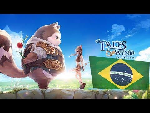 Tales of Wind: CHEGANDO AO BRASIL!!! Conhecendo o game/Pré-Registro!!! - Omega Play
