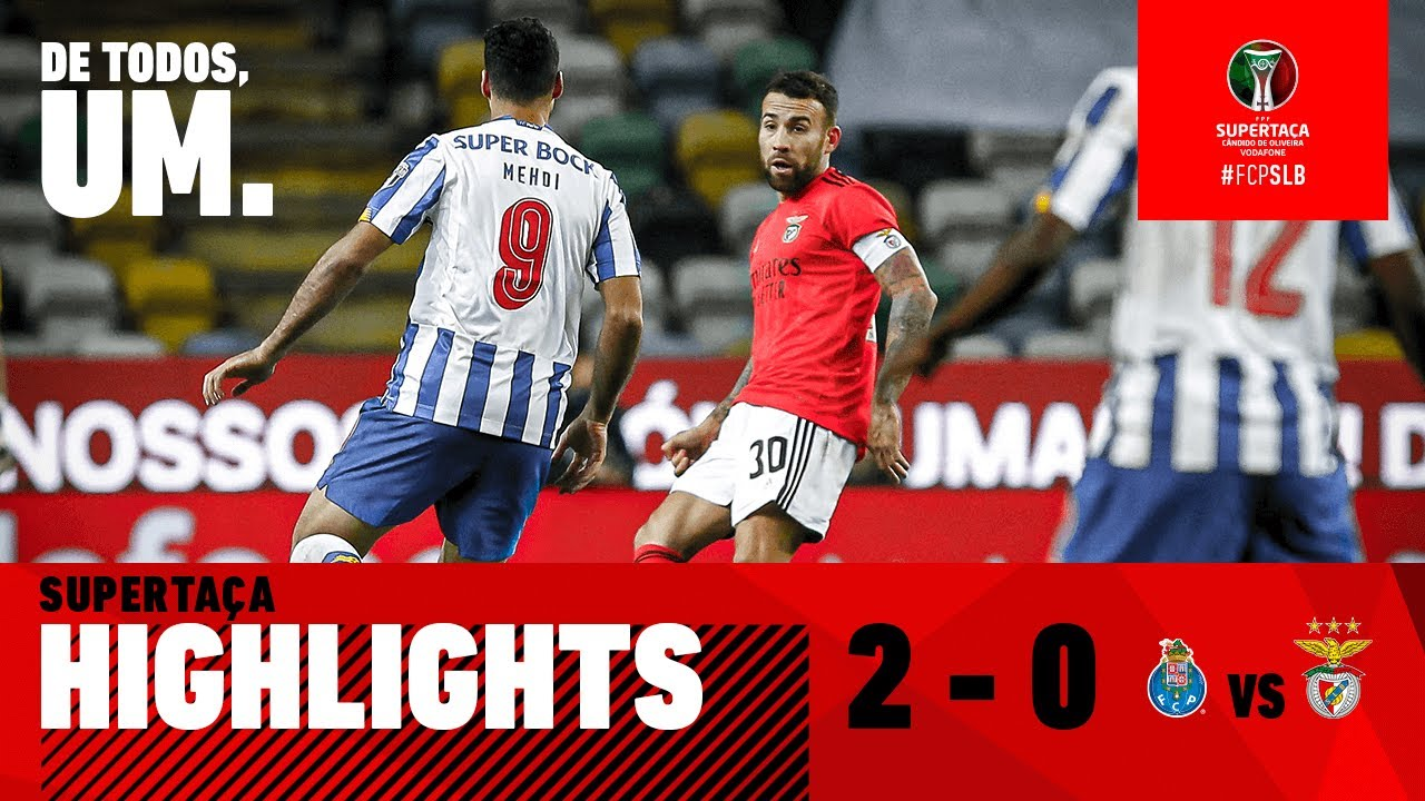 Resumo Highlights Fc Porto 2 0 Sl Benfica Youtube