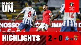 RESUMO / HIGHLIGHTS: FC Porto 2-0 SL Benfica