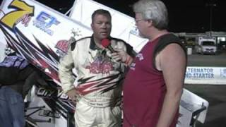 Westers crash and Ramey's interview afterward