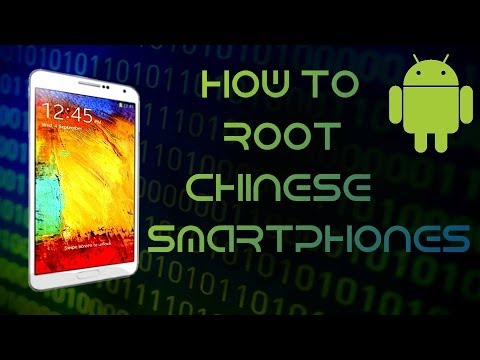 How to root every china phone - MTK universal root [HD]