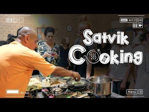 Satvik Cooking Workshop by  Radha Vallabha Das AT GEV 2017 Part - 2