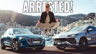Audi E-Tron & Lamborghini Urus Got Us Arrested!   Nico Rosberg   Evlog