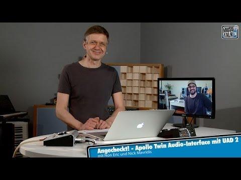 test universal audio apollo twin audio interface mit uad 2 deutsch youtube. Black Bedroom Furniture Sets. Home Design Ideas