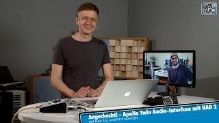 Test - Universal Audio Apollo Twin Audio-Interface mit UAD 2 - deutsch