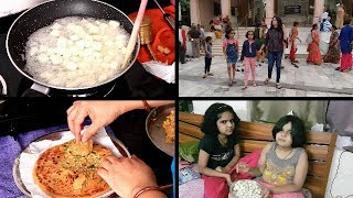SUNDAY MORNING BREAKFAST ROUTINE | Indian breakfast routine | Aloo Paneer Paratha | Indianvlogger