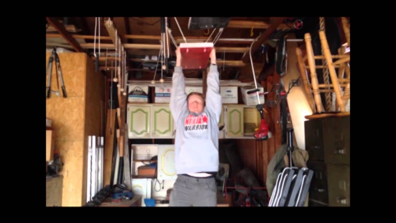 The ninja warrior garage youtube