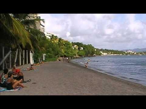 Plage de l'anse Colat Schoelcher Martinique