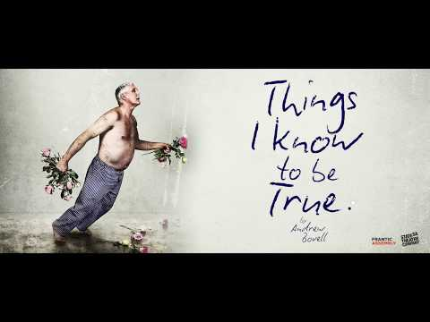 Things I Know To Be True UK Tour 2017