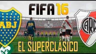 FIFA 16 | Probando el Juego - RIVER vs BOCA | PC Gameplay