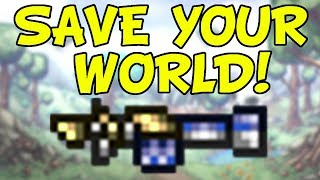 Terraria 1.3 Save Your World with the Clentaminator! | Switch iOS Android PS4 PC