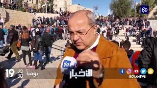 أبناء القدس ينتفضون دفاعاً عن هويتها ومقدساتها - (8-12-2017)