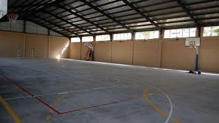 maracena.tv / El pabellón en Las Mimbres dota de un espacio protegido al único centro que le faltaba