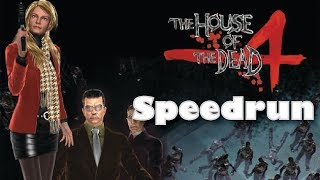 (World Record) The House of the Dead 4 Speedrun - Any% (25:07)